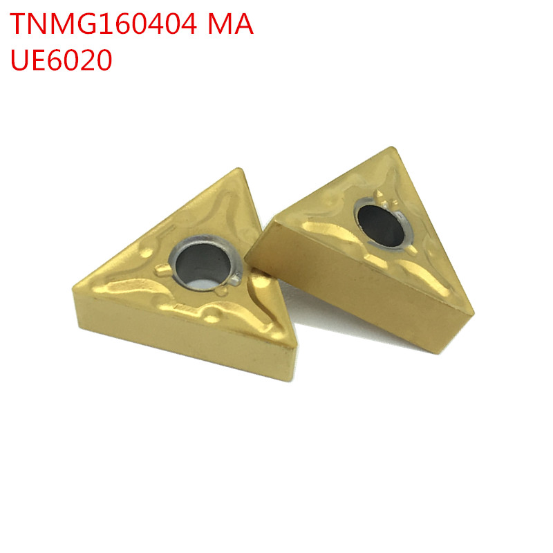 SWIS 100pcs TNMG160404 MA UE6020 External Turning Tools Carbide inserts Cutting Tool CNC Tools Lathe cutter tools SWIS 100pcs TNMG160404 MA UE6020 External Turning Tools Carbide inserts Cutting Tool CNC Tools Lathe cutter tools