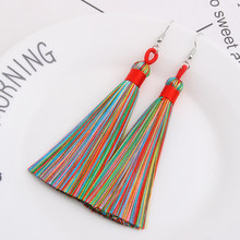 Qtian brincos 2019 earings fashion jewelry boho vintage drop long women earring pendientes mujer moda indian jewelry Wedding(China)