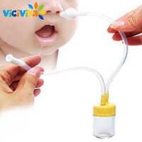 Cuidados com o bebê cuidados com o bebê recém-nascidos bebê nasal aspirador nasal para a segurança do bebê nariz mais limpo