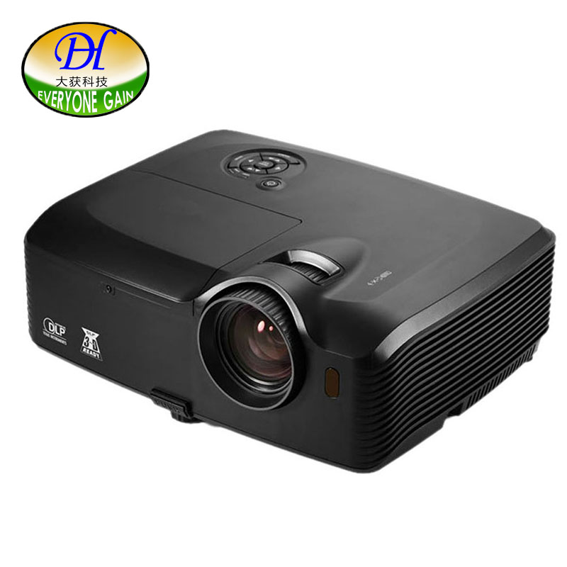 Everyone Gain Outdoor Projector 5000 Lumens Highlight Engineering Proyector Full HD Beamer 8000X Proiettore Full hdCeiling Mount everyone gain video projector 3000 lumens highlight build in speaker android 4 2 support 1080p movie proyector tl300