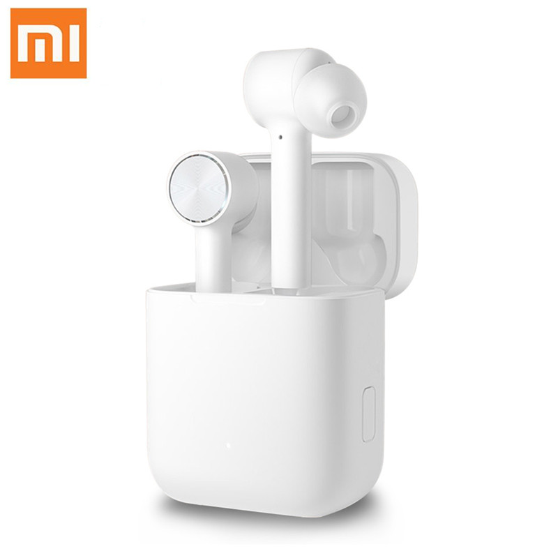 Hot Original Xiaomi Air TWS Headset Bluetooth Wireless Stereo Earphone ANC Switch ENC Auto Pause Tap Control Airdots Pro