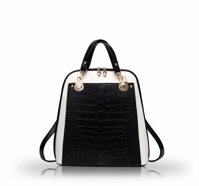 a5884b409784 NICOLE DORIS New Backpack Female School Bag Shoulder Bag Women Dual-use  College Wind Fashion Travel Bag