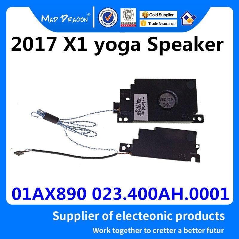 MAD DRAGON Brand Laptop Laptop New Original Speaker Set-R + L Left Right for Lenovo Thinkpad X1 yoga 2017 01AX890 023.400AH.0001