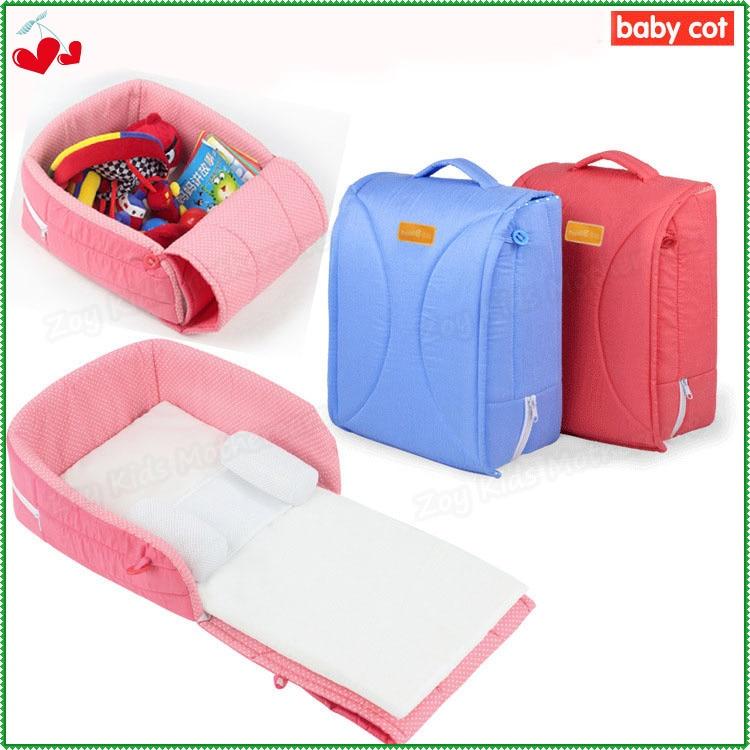 Portable Folding Detachable Baby Bassinet,Newborn Cradle,Infant Nest Playpens Travel Bed Cot Set,Small Baby Cradle 0-6months