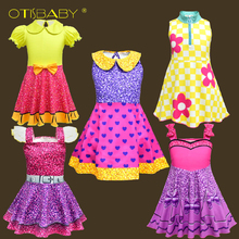 Wholesale lot 2-10 Year Children Lol Clothes Child Rainbow Costumes for Girls Princess Birthday Party Holiday Girl Dress