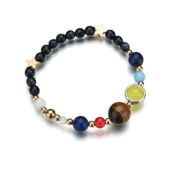 Women's Planet Themed Beaded Bracelet Bracelets Jewelry New Arrivals Women Jewelry Metal Color: Planet star