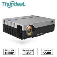 ThundeaL Full HD Projector T26K Native 1080P 5500 Lumens Video LED LCD Home Cinema Theater HDMI VGA USB TV 3D T26L T26 Beamer