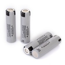 4pcs/lot New Original Panasonic 18650 NCR18650BD 3.7V 3200mAh 10A discharge battery for electronic cigarette