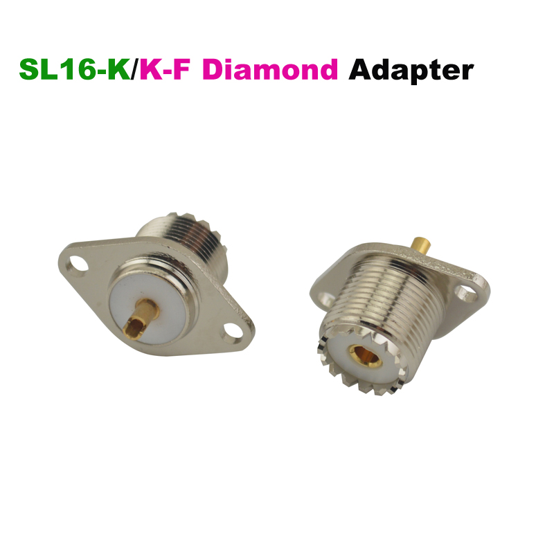 SL16-K (UHF SO239 Female)/KF Diamond Socket Jack RF Adapter