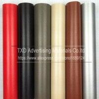 Promotion 1.52*30M/Roll Leather pattern PVC vinyl wrap film sticker for auto car body internal decoration vinyl wrap free ship