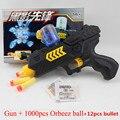 Nueva diversión! cs juego de disparo de agua cristal 2-en-1 nerf pistola de aire suave pistola Rifle de Aire Pistola de Paintball Pistola y Pistola de Bala Suave Juguetes De Plástico