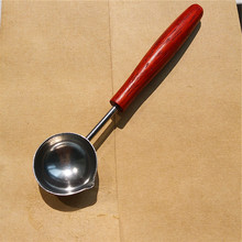 1 Pcs 12×2.5cm large Stamp Spoon Vintage Wax Sealing Spoon Melting Sealing Wax Stick Granule for Invitation Card Christmas