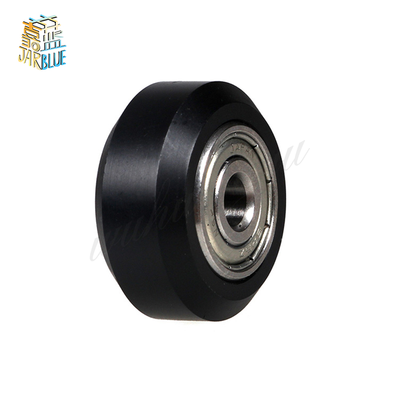 Tronxy 3D printer parts 2020 Euro Aluminium profile rail openbuilds D-type Wheel with NSK 625ZZ Bearing Passive Round Pulley roland sj 640 xj 640 l bearing rail block ssr15xw2ge 2560ly 21895161 printer parts