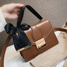 Leather small bag female 2019 new summer simple wild woman diagonal shoulder handbag mini