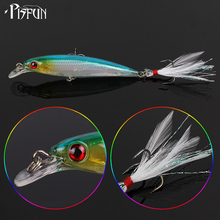 Pisfun 20Pcs/kit Fishing Lure Set Wobbler Crankbait Set Mixed Color Minnow Fish Supplies Fake Lure For Carp Bass 7g/13.5g