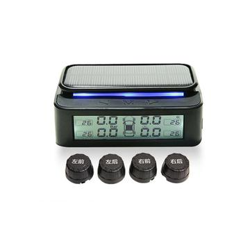 168 Compact Wireless TPMS Car Tire Pressure USB Charging Monitoring System