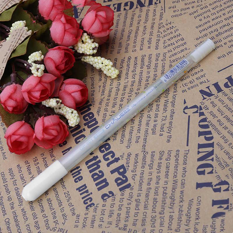 0.8 مللي متر طابعة بحبر أبيض اللون ألبوم صور هلام القلم القرطاسية مكتب التعلم لطيف القلم للجنسين القلم الزفاف قلم هدية للأطفال