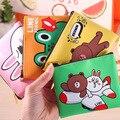 2016 Nueva Llegada 13*10 CM Monedero Animal de la Historieta Para Niños Kids regalo Lindo de LA PU Pequeño bolso de Mano Del Bolso de Las Mujeres Mini carteras GY-156