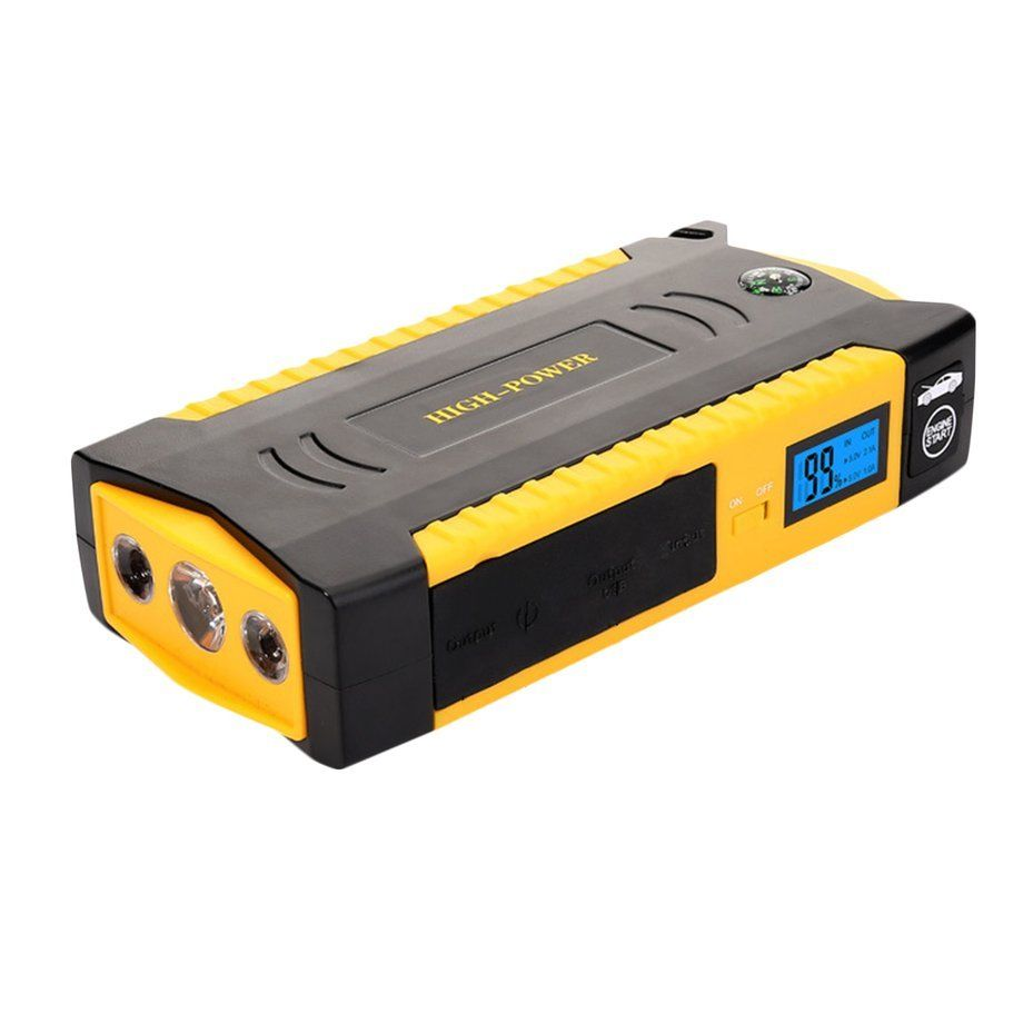AIMIHUO 82800mAh Portable Car Jump Starter Battery Booster with USB Power Bank LED Flashlight for Truck Motorcycle Boat Hot Sale 20000mah portable car jump starter battery booster with usb power bank led flashlight for truck motorcycle boat