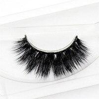 3D Mink False Eyelashes Individual Dense Crossover Natural For Beauty Eyelashes Makeup Fake Eye Lashes Extension