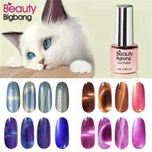 цена на BeautyBigBang Magnetic Cat-Eye Nail Gel Polish UV/LED Nail Gel Lacquer Soak Off Gel Nail Varnish Nails Art  Design Gel Polish
