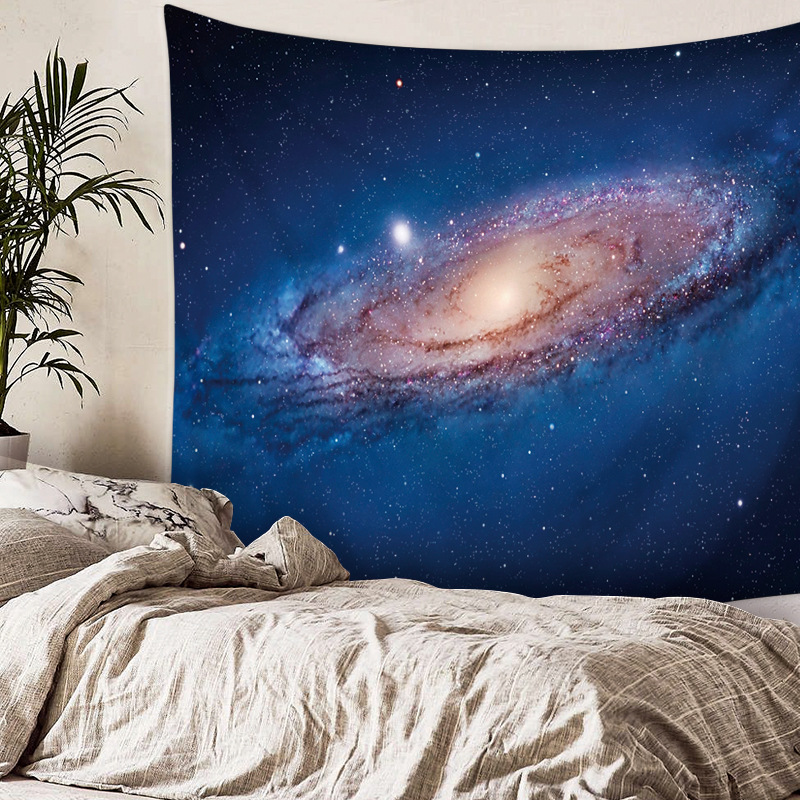 Cosmic Starry Tapestries Personality Beach Towels Panic Shadow Cover Bed Hanging Decorative Cloth Fabric Hot Sale Wholesale