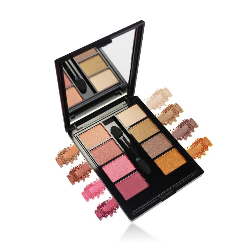 Eyeshadow Eight-color Eyeshadows Powdery & Easily Coloured Natural Long-lasting Grooming Eyes Make Eyes Beautiful