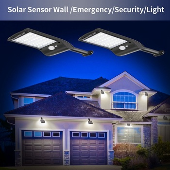 Solar Verlichting Outdoor 36 LED Super Bright Solar Lamp 300LM Motion Sensor Beveiliging Lichten Draadloze Waterdichte Flexibele Wandlampen