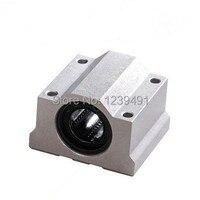4 pcs SC25UU SCS25UU 25mm Linear Ball Bearing bloco de CNC peças