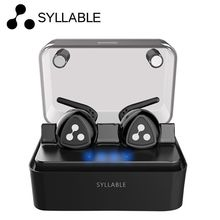 Discount! New Original Syllable D900MINI Wireless Bluetooth Earphone auriculares Stereo Headset D900 Mini Mic for iphone 6 Xiaomi 3 Phone