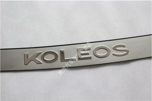 Image 5 - גבוהה באיכות נירוסטה אחורי פגוש מגן סיל עבור 2009 2010 2011 2012 2013 2014 2015 2016 רנו Koleos
