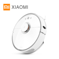 Xiaomi Mi Robot Vacuum Cleaner 2 Wet Drag Mop Smart Planned With Water Tank Automatic Sweeping
