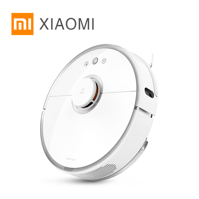 xiaomi mi robot vacuum cleaner 2 Wet drag mop Smart Planned with water tank Automatic Sweeping Dust WIFI APP Control 5200 mAh intelligent d5501 robot vacuum cleaner with 180ml water tank 2 suction nozzle powerful wet