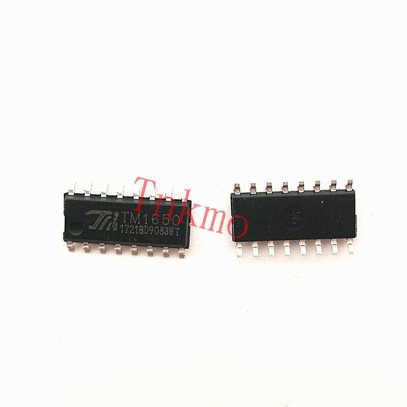 10pcs/lot TM1650 SOP16 8 * 4 bit driving digital control chip 10pcs 20pcs 50pcs 100pcs 100% new original adum1402crwz rl adum1402crwz adum1402 sop16 digital isolator chip