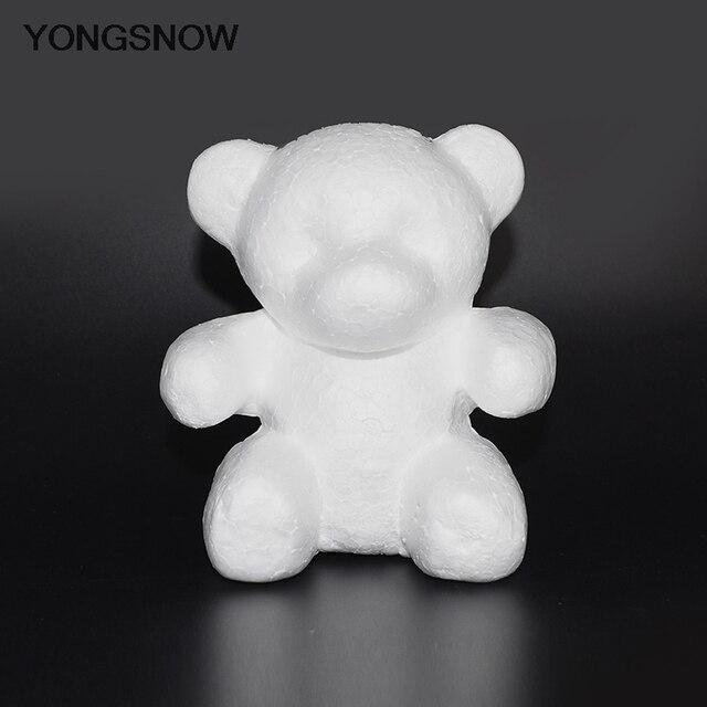 Rose Bear Flower Bear Foam Bear Mold Artificial Rose Flower Mold Modeling Polystyrene Styrofoam Bear Mother's Day Flower Gift 2
