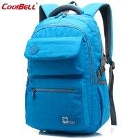 Coolbell Brand 2016 Spring Summer New Men Women Laptop Backpack 15 6 Inch Notebook Computer Bag