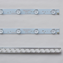 10 peças/lote 32 polegada 26 60 polegada tv lcd led geral lâmpada lente modificada led lâmpada de alumínio 10 lâmpada 56.5cm 100% novo
