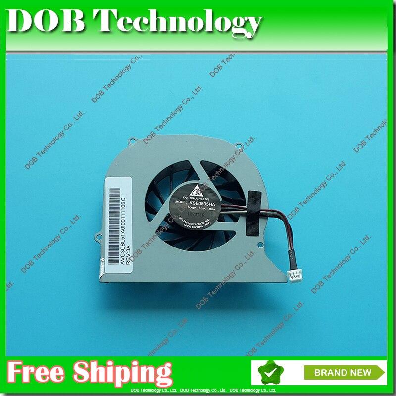 CPU fan for Toshiba Satellite A300-15A KSB0505HA-7K29 KSB0505HA 7K29 Laptop Cooling fan