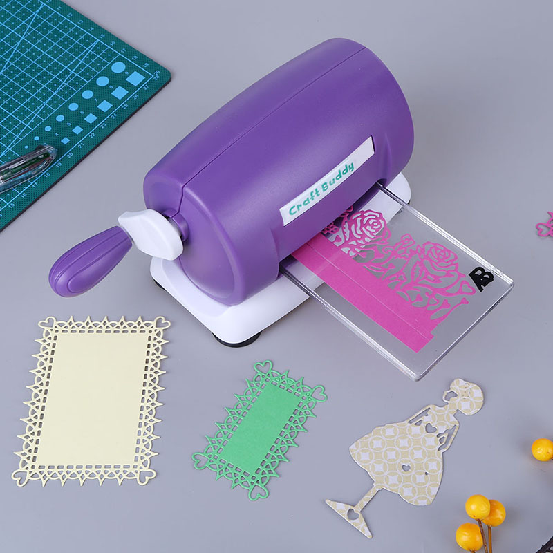 DIY Embossing Machine Cutting Dies Machine Scrapbooking Paper Cutter Embossing Die Cut Machine With 2 Plates for Album DecorDIY Embossing Machine Cutting Dies Machine Scrapbooking Paper Cutter Embossing Die Cut Machine With 2 Plates for Album Decor