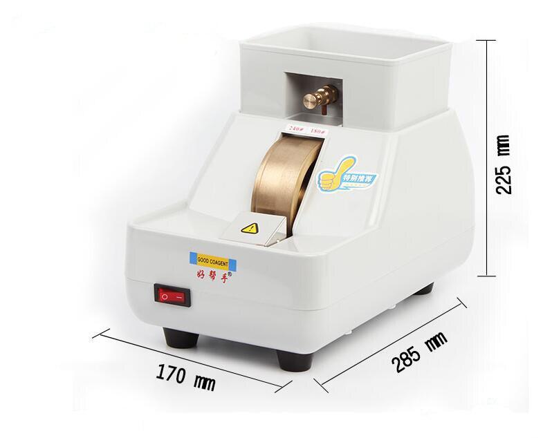 Main machine à tailler les verres machine de broyage 35mm Diamant Grinder Roue machine de découpe de verre Lunettes Équipement De Traitement CP-7-35WV