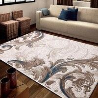Ручная резка Большие размеры персидский земле коврик большие размеры, офис ковер, журнальный столик, ковер, классические украшения дома