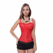 caudatus corsets and bustiers for women floral brocade corset with straps sexy plus size costumes corselet overbust cosplay