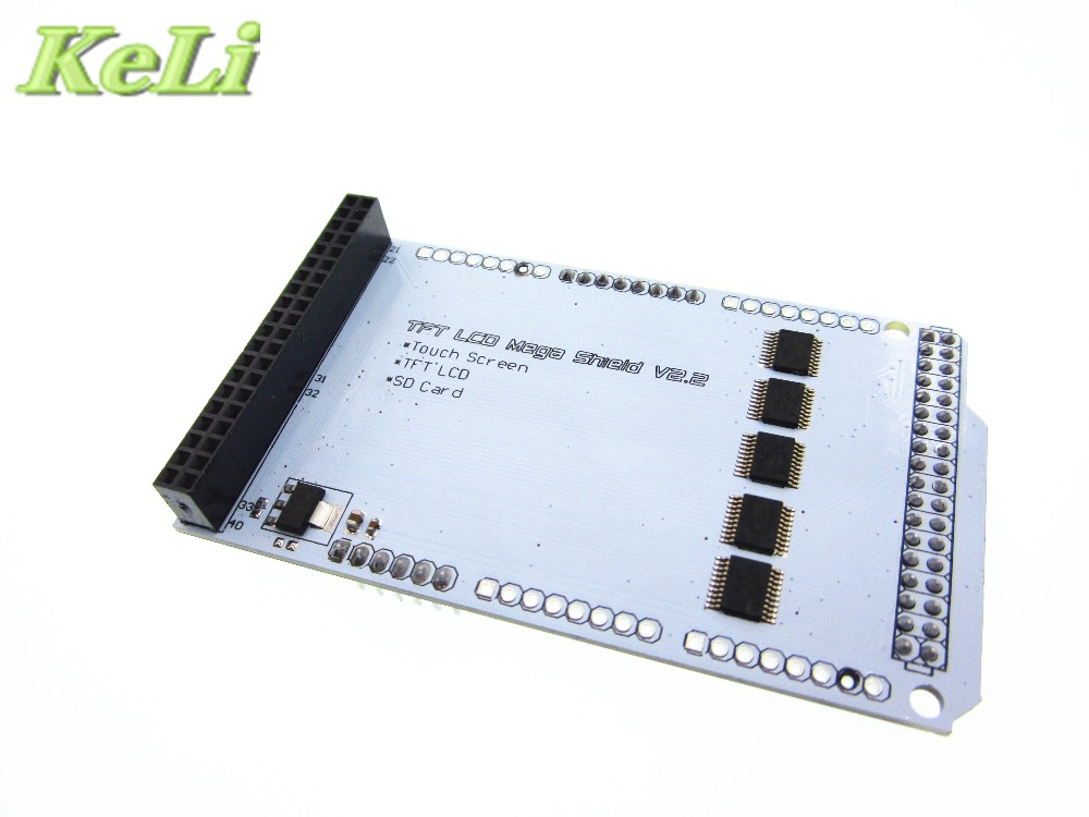 New TFT 3 2 inch Mega Touch LCD Expansion Board Shield IC partial pressure Mega 2560