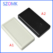 10 pieces a lot, 2AA battery  szomk handheld plastic enclosure 135x70x25mm electrical abs switch box
