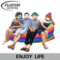 Yuetor 52 Beach lay bag Hangout sleep Air Bed Lounger laybag Outdoor fast folding sleeping inflatable air sofa lazy bag