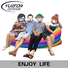 Lay yuetor hangout lounger laybag sofa inflatable sleep folding sleeping fast