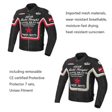 Jacket For Racing Clothing Sets/Oxford /Motorcycle Jackets /Riding without Pants/Windproof Mesh Suit