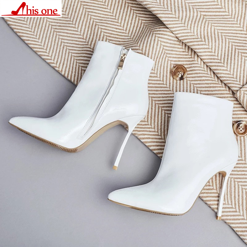 2019 Women Boots for Women 2019 Spring And Autumn Pointed Toe High Heels Short Boots Stiletto Ladies Pure Color Fashion Shoes 2019 Women Boots for Women 2019 Spring And Autumn Pointed Toe High Heels Short Boots Stiletto Ladies Pure Color Fashion Shoes