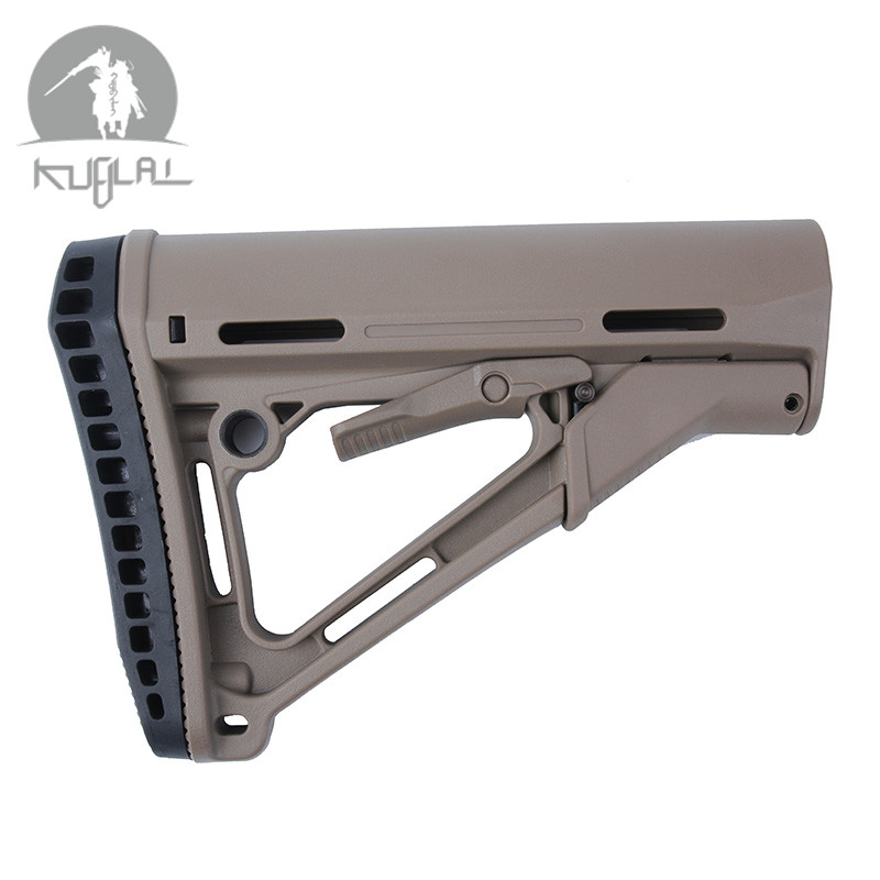 High Quality Nylon CTR Stock Higher Version Common  Version for Airsof AEG-in Hunting Gun Accessories from Sports & Entertainment