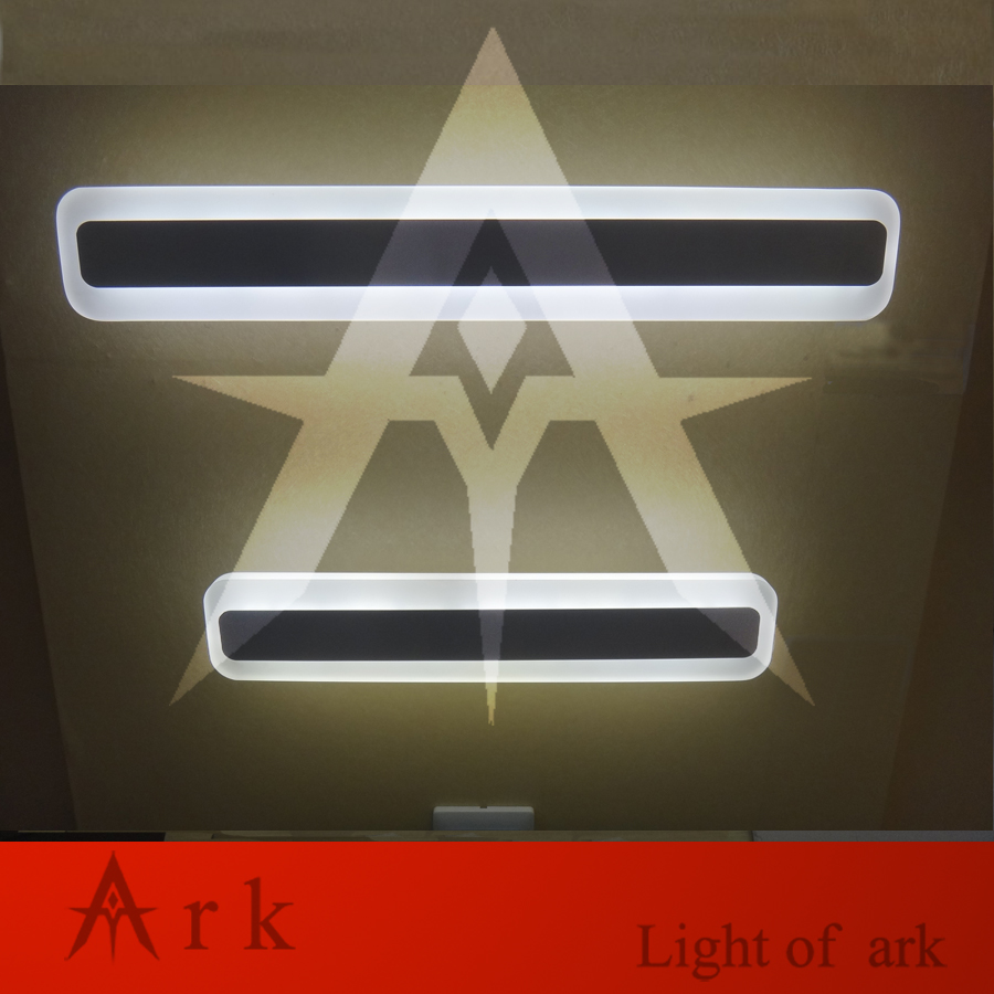 ark light 40cm LED 14W LED Acrylic Wall Lamp Bathroom Led Mirror Lamp Bathroom Aisle Living Room Waterproof Anti-fog AC 80-265V modern creative acryl aluminum led mirror lamp for bathroom living room waterproof anti fog 40cm 12w mirror light 2130